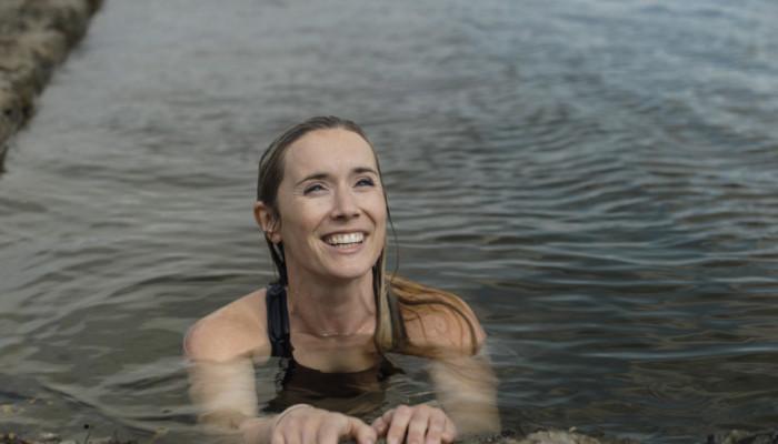 Finn Van Der Aar from SaltwaterStories sea swimming